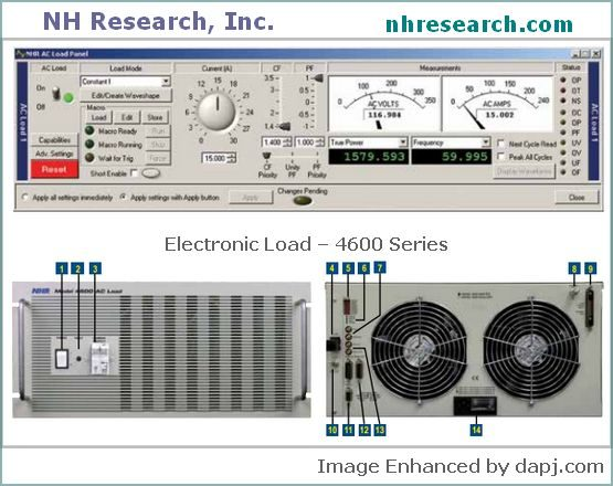 Programmable AC Electronic Loads - NH Research
