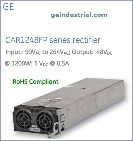 CAR1248FP front-end power supply - GE