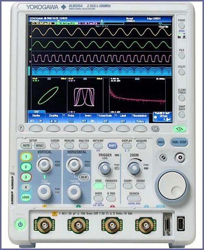 DLM2000 Series Digital Oscilloscopes Yokogawa
