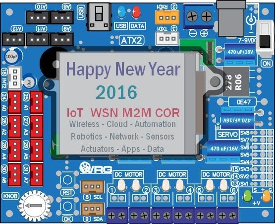 Happy New Year - 2016 year of IoT