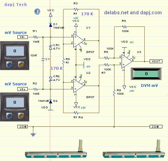 Instrumentation Amp - Op-Amp Designs