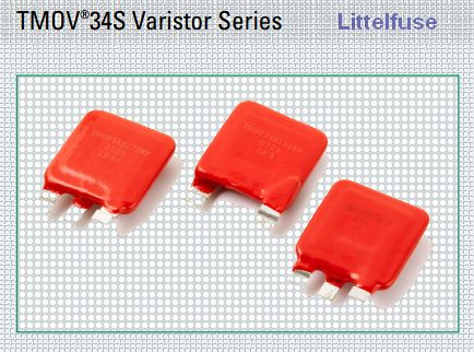 TMOV34S Thermally Protected Varistor - Littelfuse