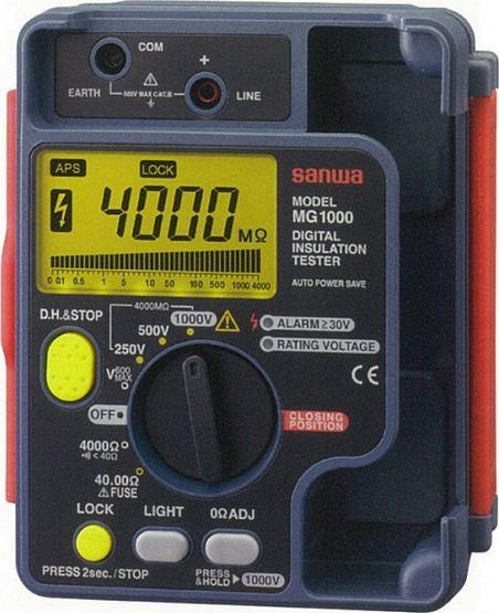 MG1000 Digital Insulation Tester - Sanwa