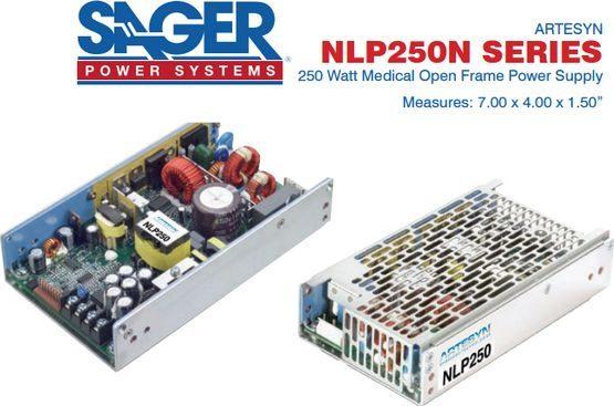 250 watt  AC-DC power supply - Artesyn Emerson