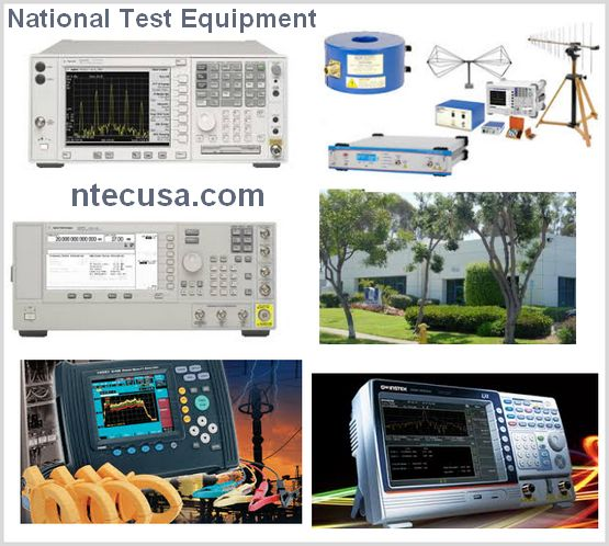 National Test Equipment - Reconditioned Instruments
