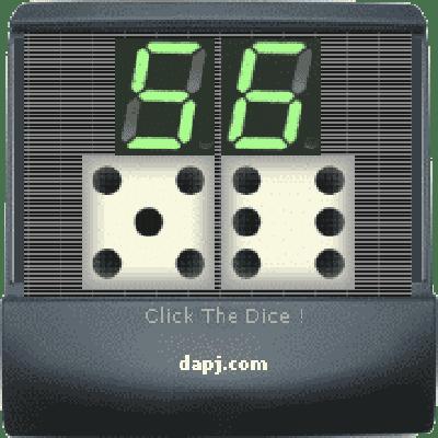 Digital Dice Cubes