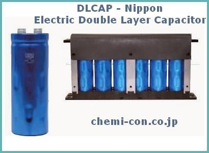 DLCAP - Electric Double Layer Capacitor - Nippon
