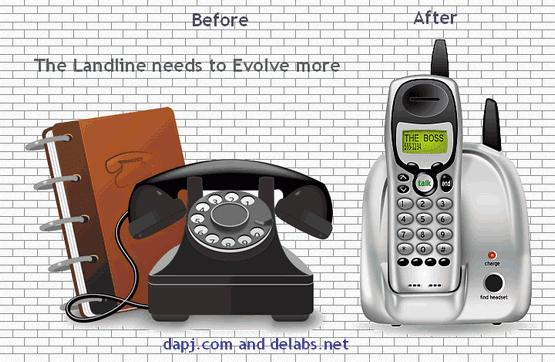 The Future Landline Phones