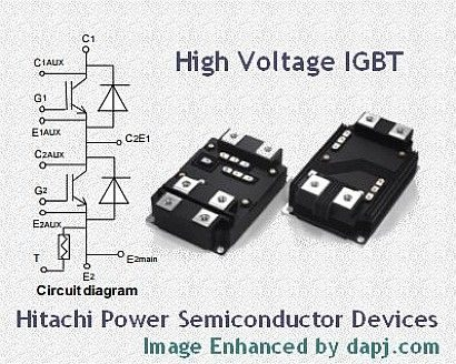 High-Voltage High-Power IGBT