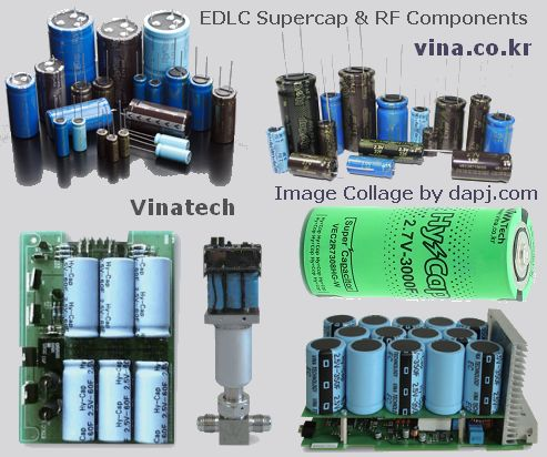 Vinatech - EDLC Supercap and RF Components